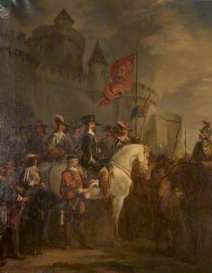 Charles I Raising His Standard at Nottingham Castle