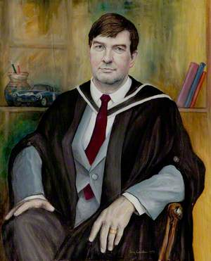 P. F. McGoldrick, MSc, Warden of Sherwood Hall (1986–1991)