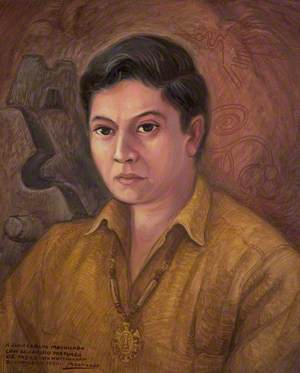 Portrait of the Artist's Son, Juan Carlos