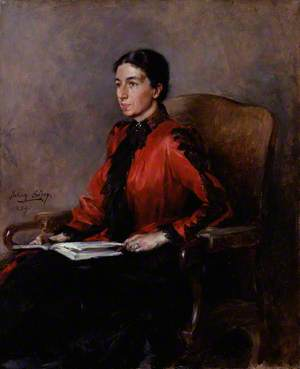 Mrs Humphry Ward (Mary Augusta Ward, née Arnold)