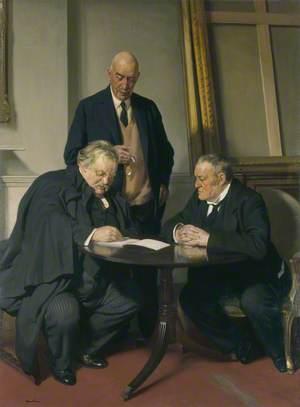 Conversation Piece (G. K. Chesterton; Maurice Baring; Hilaire Belloc)