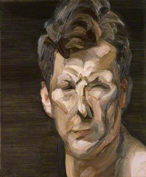Man's Head (Self Portrait III) 1963