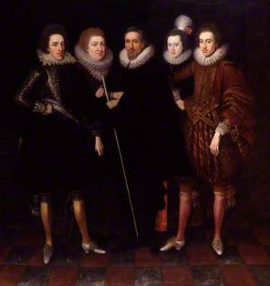 The 1st Earl of Monmouth and his family