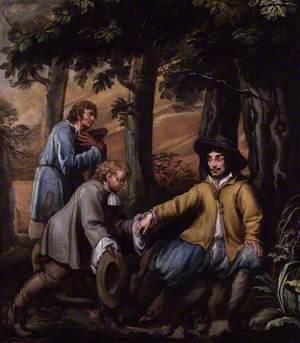 King Charles II in Boscobel Wood