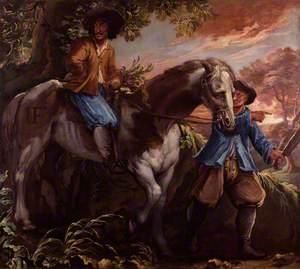 King Charles II on Humphrey Penderel's Mill Horse