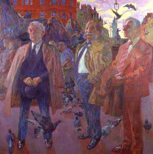 Trade Unionists (Joe Gormley; Sir Thomas Jackson; Sidney Weighell)