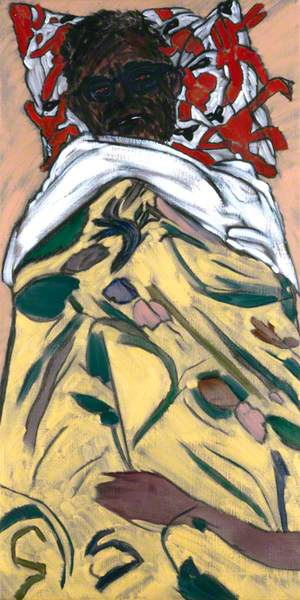 R. B. Kitaj ('Self-Portrait: Hockney Pillow')