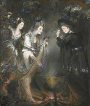 The Three Witches from 'Macbeth'
