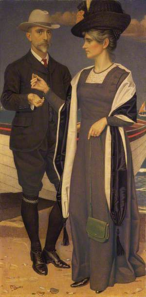 Joseph Southall and Anna Elizabeth Southall