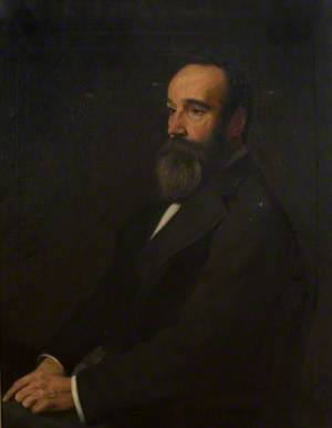 John Mitchell, Esq., Provost of the Burgh of Helensburgh (1890–1903)