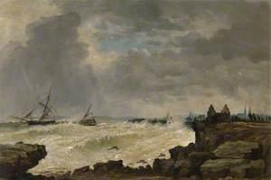 Shipwreck at Fraserburgh
