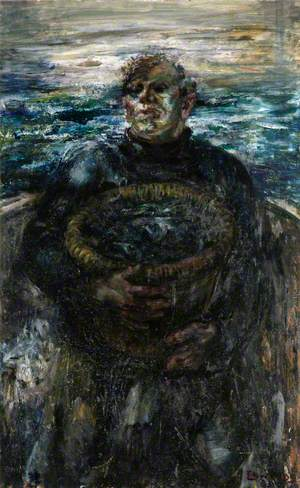 Fisherman with Creel