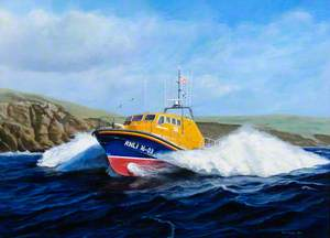 Peterhead Lifeboat 'The Misses Robertson of Kintail'