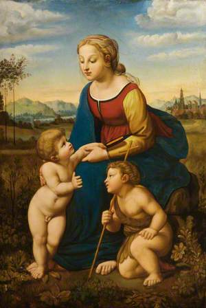 Our Lady with the Child Jesus and John the Baptist