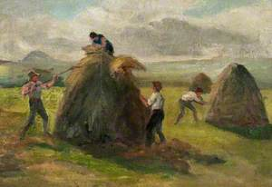 Haymakers in the Scottish Lowlands