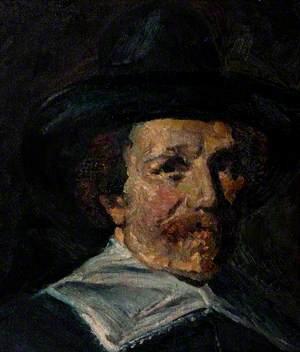 Portrait of a Seventeenth-Century Man in a Hat