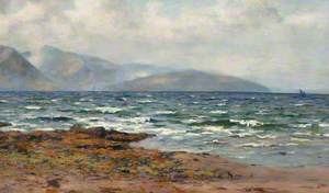 Sea Loch in Rough Weather