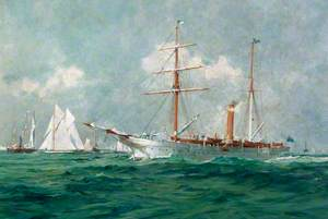 Steam Yacht 'Rhouma I'