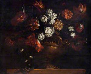 Still Life – Urn of Flowers