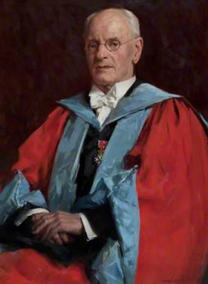 Dr Hugh Marwick (1881–1965), Rector of Kirkwall Grammar School (1914–1929)
