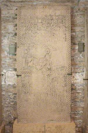 Decoratively Carved Gravestone – Patrick Prince