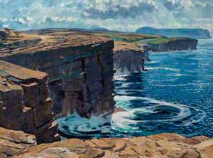 Sea and Cliffs