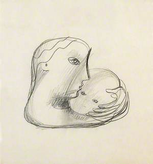 Two Heads (Mother and Child)
