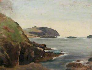 Seascape with Cliffs