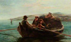 Peat Boat, Shetland