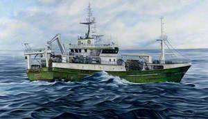 'Antarctic' LK145, Winter Seas