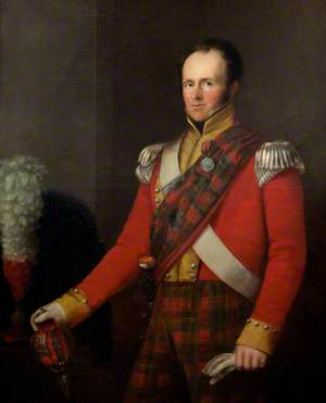 Major George Hall, 72nd Highlanders (1826–1832)
