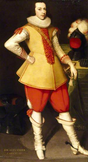 Sir Alexander Carew (1608–1644), 2nd Bt