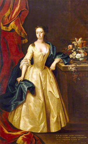Anne Coventry (1695/1696–1733), Lady Carew
