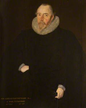 Sir Amyas Bampfylde (1550–1625), 1st Bt of Poltimore