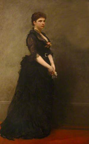 Mary Lyman Morgan (b.1844), Mrs Walter Hayes Burns