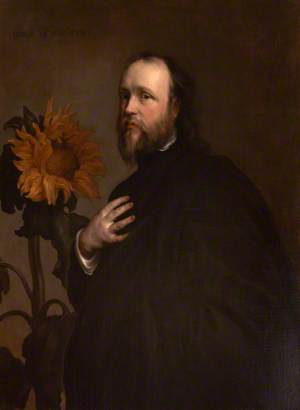 Sir Kenelm Digby (1603–1665), with a Sunflower
