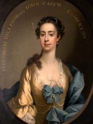 Elizabeth Billings, Mrs John Carew of Camerton