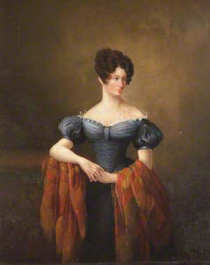 Mary Ann Sophia Chichester (1791–1848), Mrs Thomas Fitzherbert