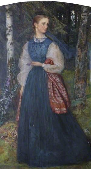 Mrs Thomas Woolner, née Alice Gertrude Waugh (1845–1912)