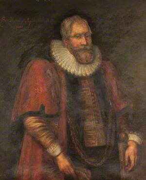 Sir Thomas Myddelton I (1550–1631), as Lord Mayor of London, 1613