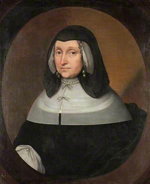 Mary Napier (1598–1675), Lady Myddelton as a Widow
