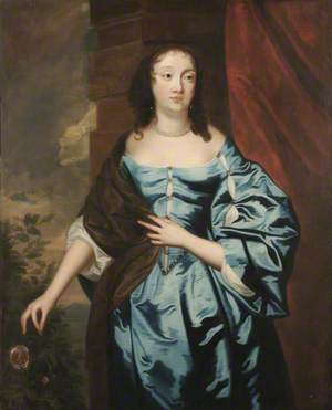 Portrait of an Unknown Lady Holding a Rose