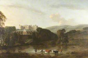Idealised View of Chirk Castle from the North