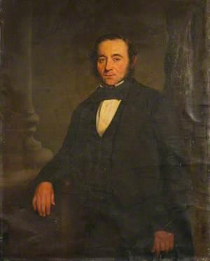 Standing Portrait of an Unknown Gentleman in Black
