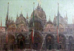 The Façade of San Marco, Venice
