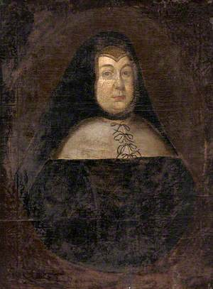 Mary Glanville, Mrs Piers Edgcumbe, as a Widow