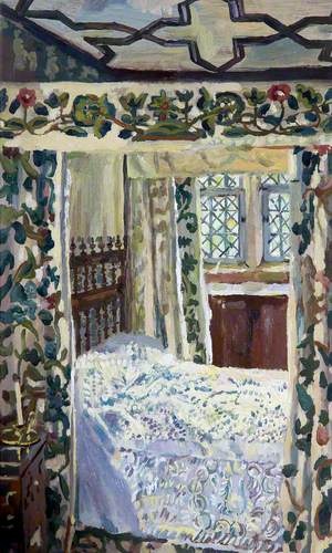 The White Bedroom, Cotehele, Cornwall