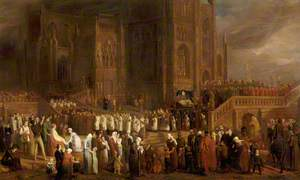 The Funeral Procession of William Canynge (c.1399–1474), to St Mary Redcliffe, Bristol, 1474