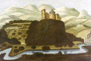 Dinefwr Castle, Llandeilo, from the South West