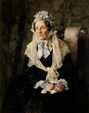 Anne Hood (1829–1917), Mrs Luttrell